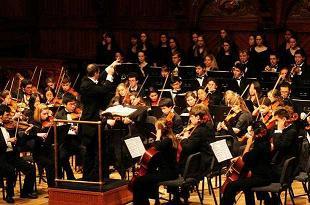 Ovacionan a orquesta sinfónica de Harvard en Santa Clara