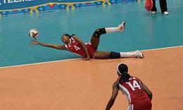 Se aleja Cuba de clasificación olímpica en voleibol (f)