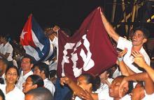 Camino a sus 90, la Federación Estudiantil Universitaria de Cuba honra y crece